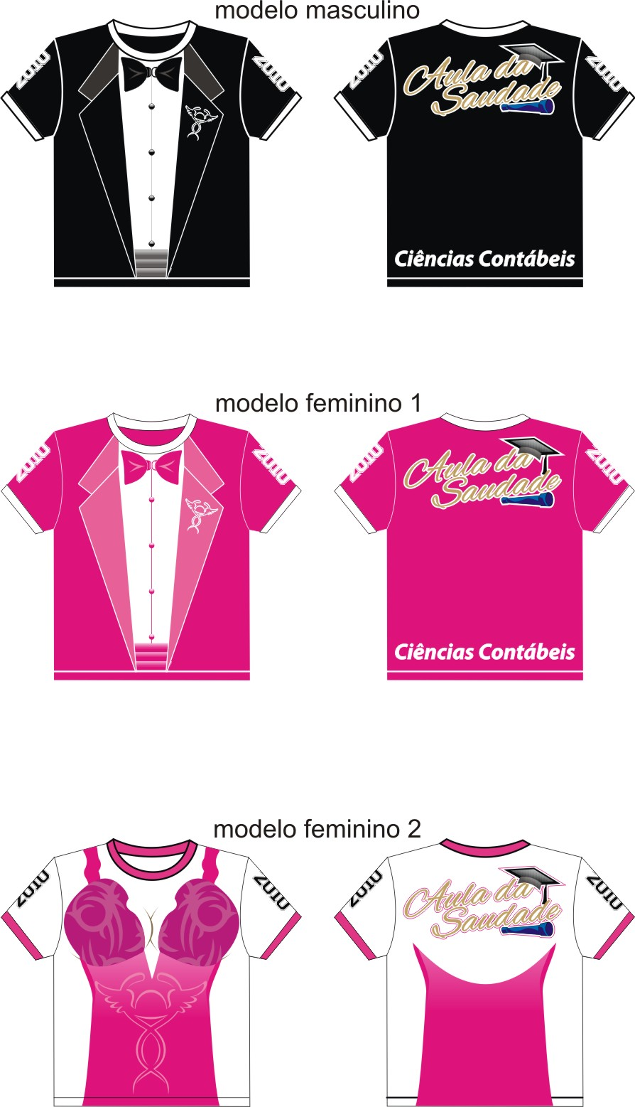 CAMISETA FORMANDO CONTAB  IS